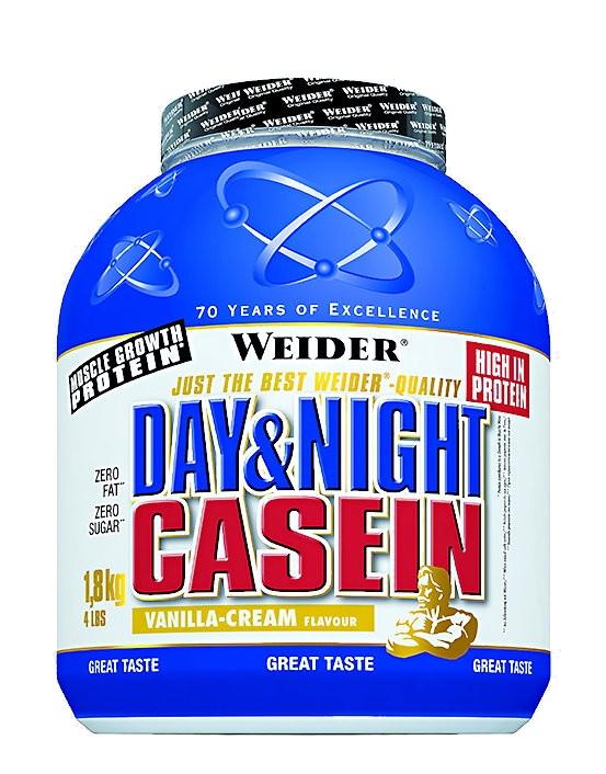 Казеиновый протеин перед сном Weider Day & Night Casein 1.8 kg