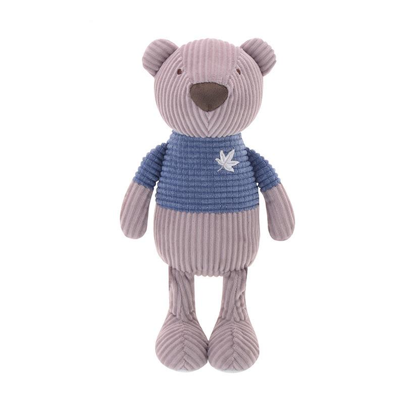 М'яка іграшка Ведмедик у синьому светрі, 25 см