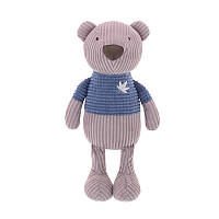 М'яка іграшка Ведмедик у синьому светрі, 25 см, фото 1