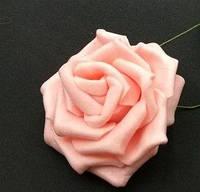 Роза на ножке розовая  5 см