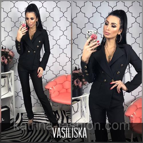 4fec3950ea2 Женский модный классический брючный костюм (3 цвета)  продажа