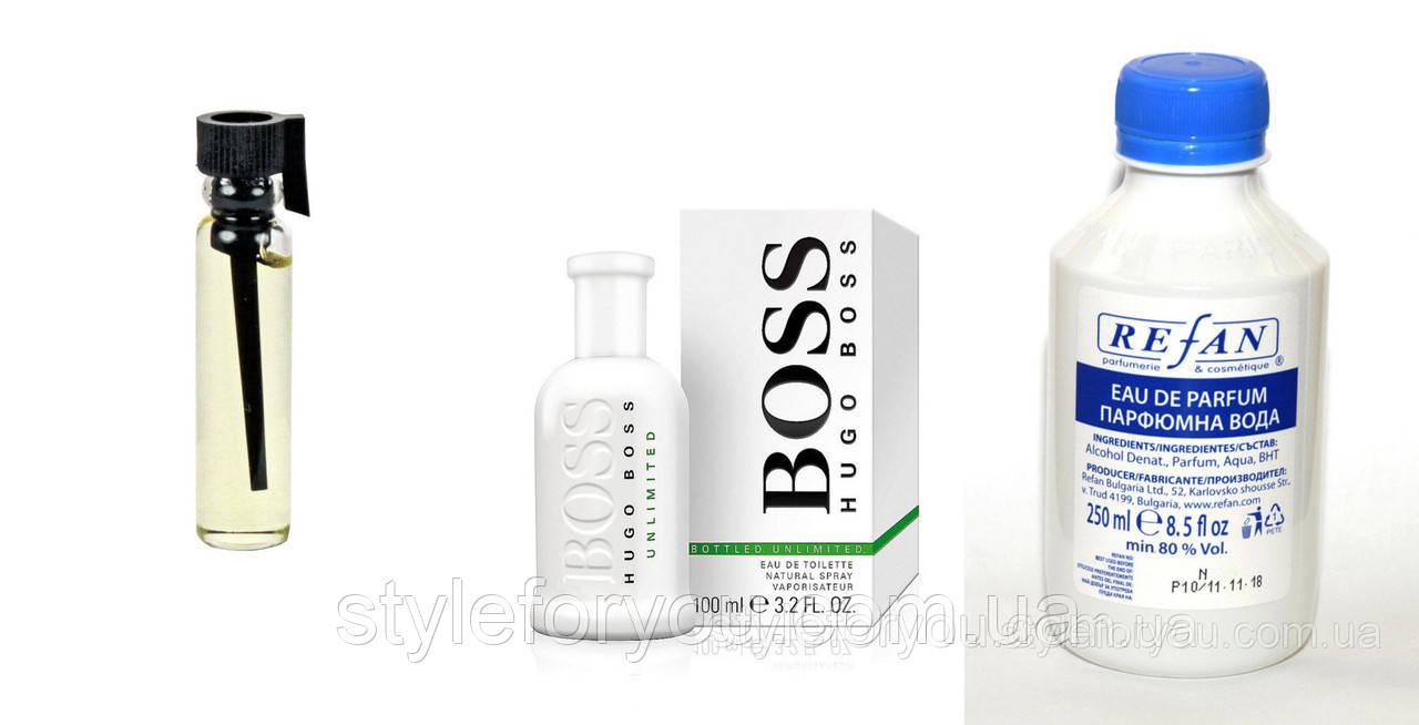 410 наливная парфюмерия Refan альтернатива Hugo Boss Unlimited