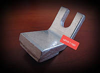 Контакт контактора ККД-113 КПП-113 нерухомий мідь, фото 1