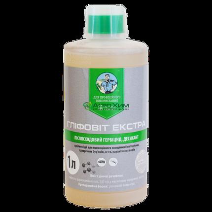 Глифовит Экстра, 1 л – гербицид сплошного действия, фото 2