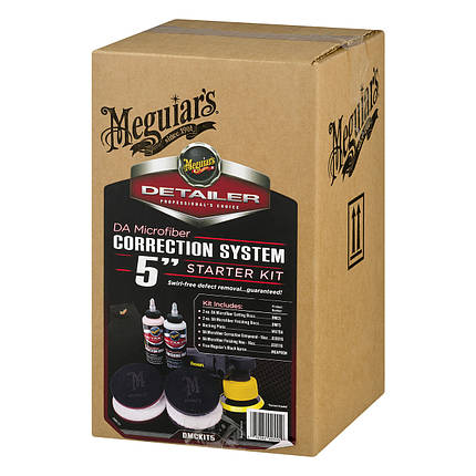 """Набор для коррекционной полировки - Meguiar's DA Microfiber Correction System 5"""" Starter Kit (DMCKIT5), фото 2"""