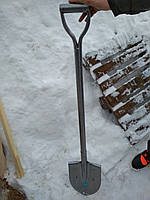 Лопата  рельсовая сталь ( железный черенок )