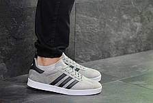 Кроссовки Adidas Gazelle замшевые,серые 45р, фото 3