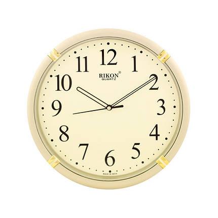 Часы настенные Rikon 521 Golden, фото 2