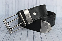 Ремень Wrangler мужской джинсовый кожаный 40мм