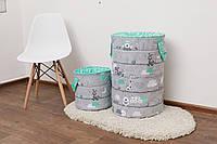 Набор корзин для игрушек (60*40 см, 30*30 см)