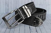 Ремень Levis в джинсы серый кожаный NEW