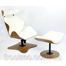 Дизайнерское Кресло релакс Vitern Chair с оттоманкой для ног кресло для дома и офиса