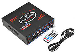 Усилитель звука UKC SN-308AC USB+SD+MP3 караоке (2649)