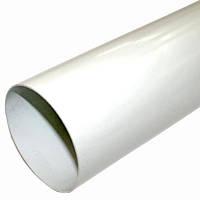 Труба водосточная белая ProAQUA Ø90, 4 метра (Система 125/90)