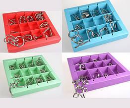 Металлическая головоломка Eureka 3D Puzzle 10 видов