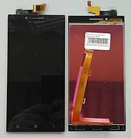 Дисплей для Lenovo P70 с чёрным тачскрином