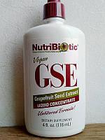 GSE - Экстракт грейпфрутовой косточки, NutriBiotic (118 мл)