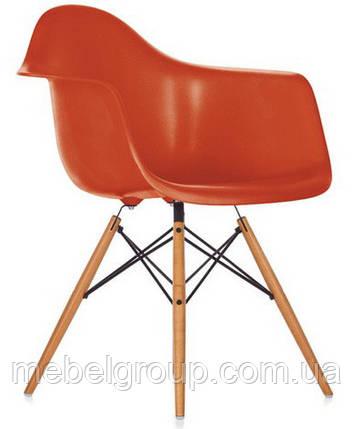 Кресло Тауэр Вуд оранжевое, фото 2