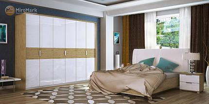 Кровать Верона 180*200 мягкая спинка с каркасом ТМ Миро Марк, фото 3