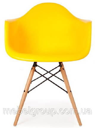 Кресло Тауэр Вуд желтое, фото 2