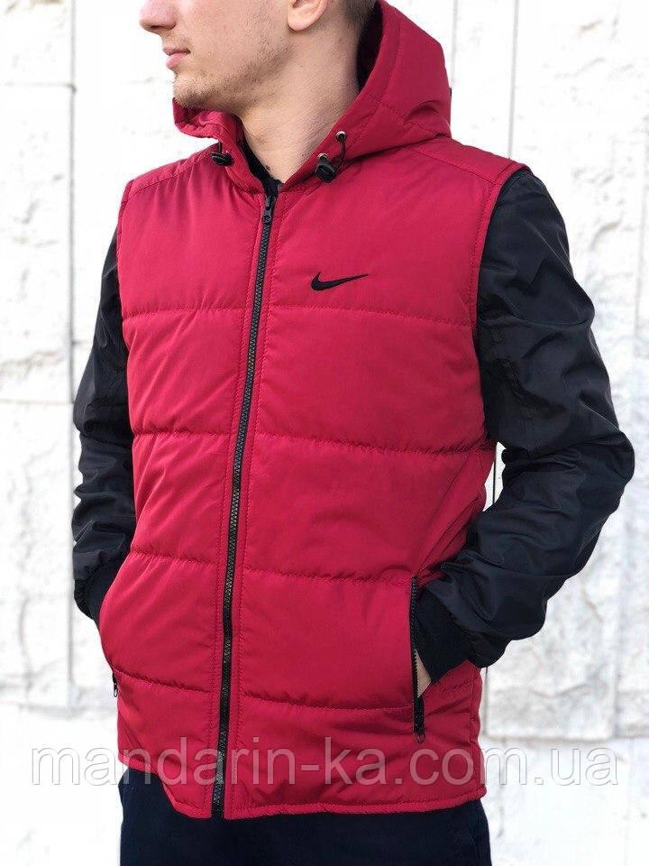 2da84d12 Мужской жилет Nike Найк красный (реплика), цена 499 грн., купить в ...