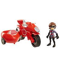 Лялька Еластику на мотоциклі Суперсімейка 2 The Incredibles 2 Elastigirl, фото 1