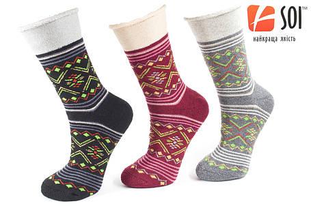 Шкарпетки махрові теплі жіночі 23-25 р. (36-40) * 51, фото 2