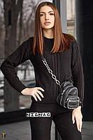 Модный женский вязаный костюм 42-46р. (5расцв).