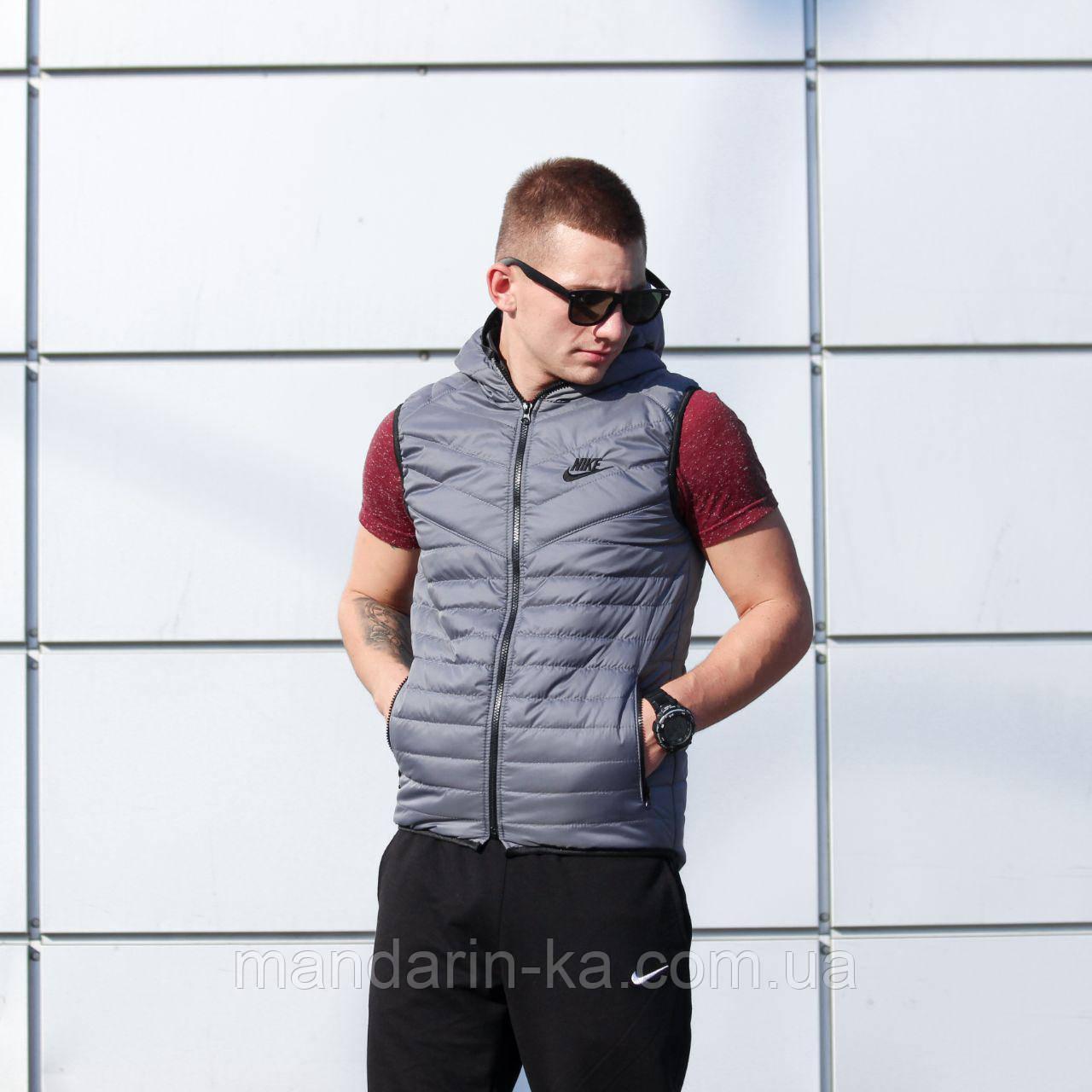 ad563f15 Мужской жилет Nike Найк серый (реплика), цена 599 грн., купить в ...