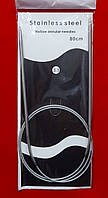 Спицы круговые №3,5  Stainless steel 80 см на тросике