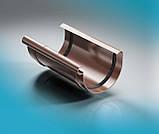 Заглушка правая жёлоба ProAQUA Ø150 мм графит (Система 125/90), фото 10