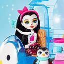 Игровой набор Enchantimals Энчантималс Прина Пингвина и Полярный белый медведь Лайла фургончик мороженого , фото 8