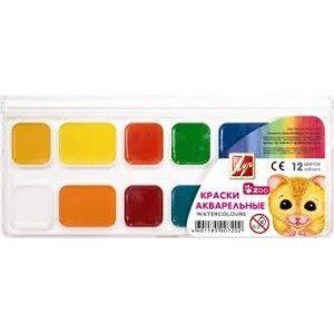 Краски акварель Луч Мини 19с1249, 12 цветов, б/кист