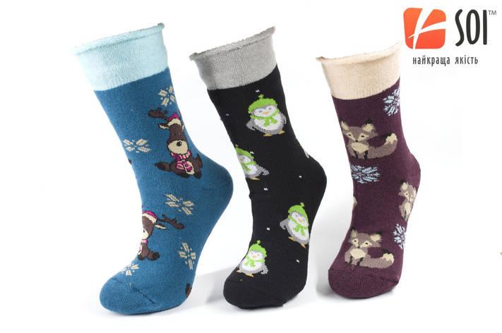 Шкарпетки махрові теплі жіночі 23-25 р. (36-40) * 39, фото 2
