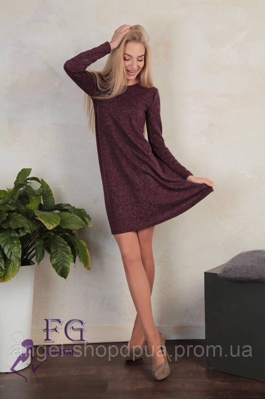 45088b14b03 Женское платье с декоративным декольте
