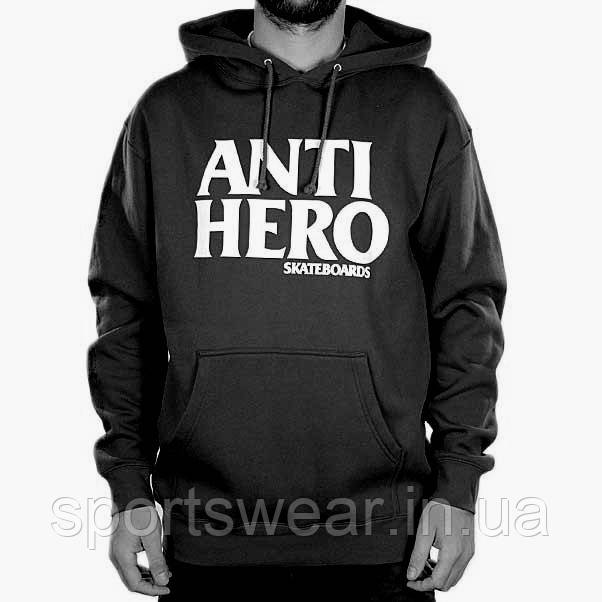 725eb5e5 Размер S, Худи мужская Толстовка Anti Hero чёрный | Кофта