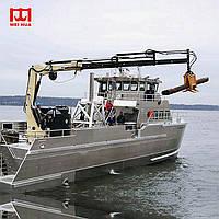 Морской палубный кран