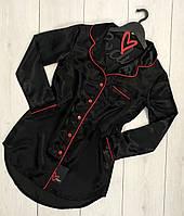 Рубашка-платье с длинным рукавом ТМ Exclusive 014-1, пижамы женские.
