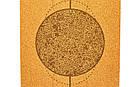 Коврик для йоги пробковый, каучуковый, двухслойный  Record  , фото 7