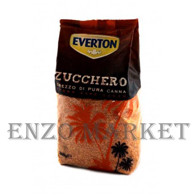 Сахар тростниковый Everton Zucchero Grezzo, 1 кг