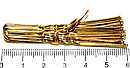 Шпильки для волос золотистые длина 6 см 50 десятков в упаковке, фото 2