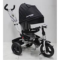 AZIMUT CROSSER T-400 TRINITY AIR дитячий велосипед триколісний чорного кольору, фото 1