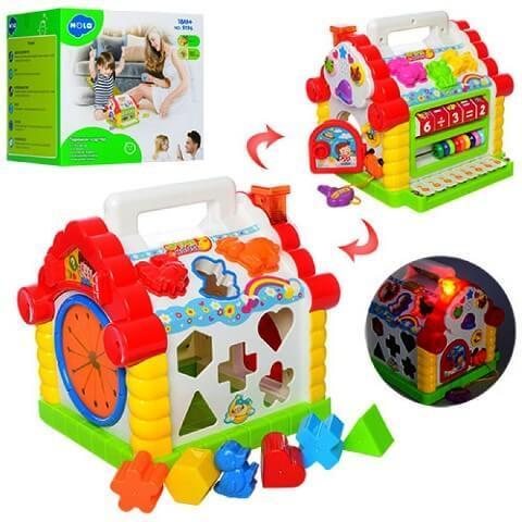 Развивающая игрушка Теремок 739/9196 HOLA (Huile Toys)