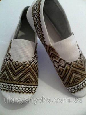 Взуття концертне чешки коричневі дитячі b9485b766a936