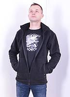 Кофта флисовая, БАЗА - 230 гр/м Черная, фото 1