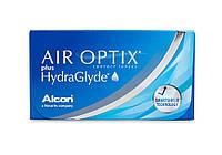 АКЦІЯ!! Air Optix HydraGlyde / 8.6 / (3 шт.) +1шт у подарунок!!!!