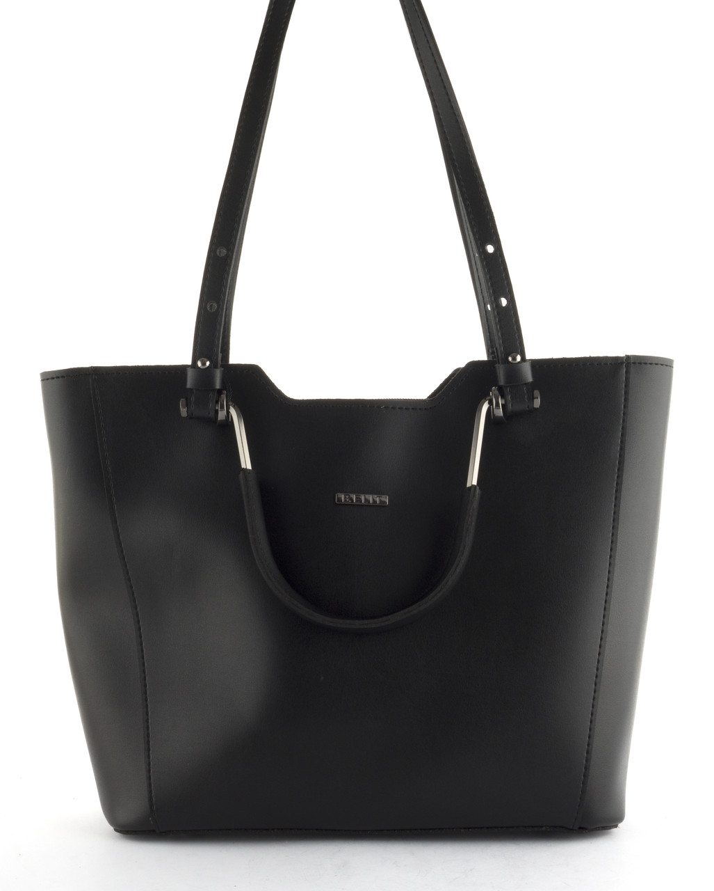 Оригинальная стильная прочная женская сумочка с гладкой лицевой часть b.elit art. 08-76