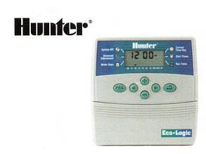 Контроллер управления автоматическим поливом Hunter ELC 601i-E на 6 зон полива.
