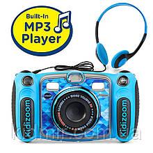 Детский фотоаппарат Vtech Kidizoom Camera DUO 5.0 Deluxe Digital Blue с видео записью