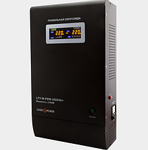 Стабилизатор напряжения 2.1 кВт однофазный LogicPower LPY- W - PSW-3000VA+ (2100Вт) 10A/15A